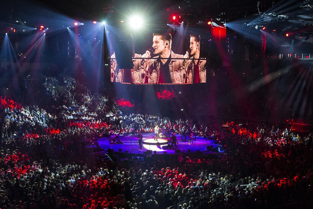 Pur in der Berliner Mercedes-Benz Arena am 15. Dezember 2018.